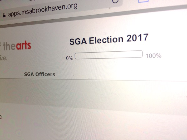 Sga Holds First Electronic Election Mississippi School