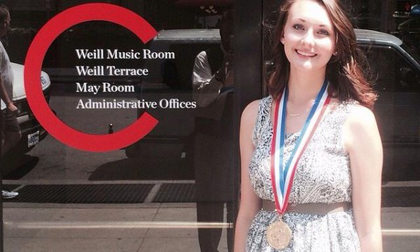 Aubree Riggle Receives National Scholastic Writing Award