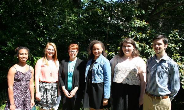 Literary Students Attend Eudora Welty Awards Ceremony