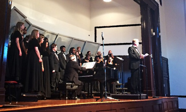MSA Chorale Sings Alma Mater for Recording Session