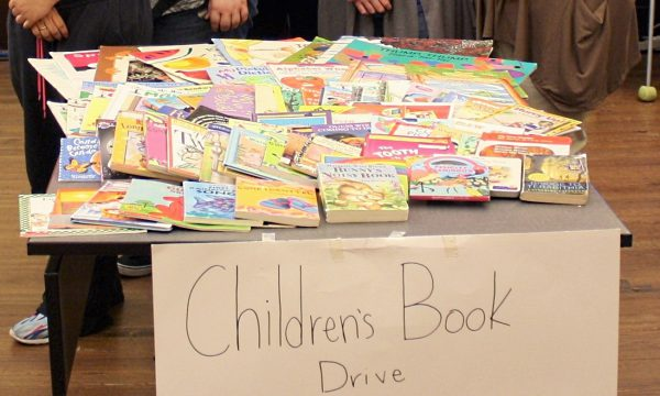 Beta Club Collects Books for Children's Literacy Program