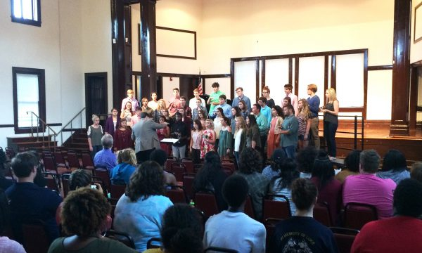 Mississippi College Joins MSA Students in Vocal Music Workshop