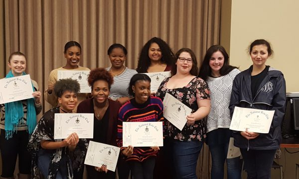 New Inductees for National Beta Club – December 2016