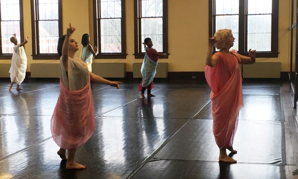 Merrie K. Christmas Teaches Master Classes to Dance Students