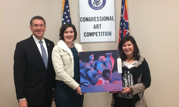 Visual Student Places Third in Congressional Art Competition