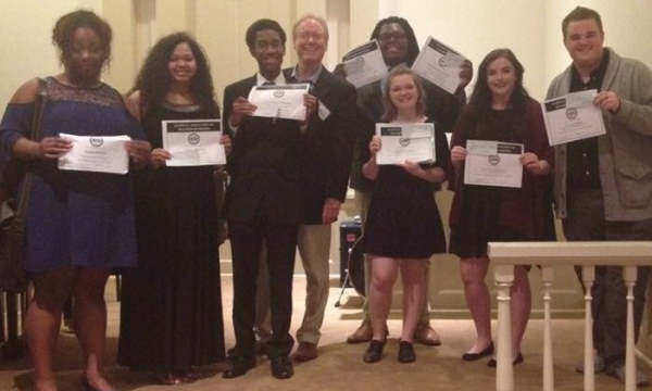 Vocal Students Receive Awards at Spring NATS Conference