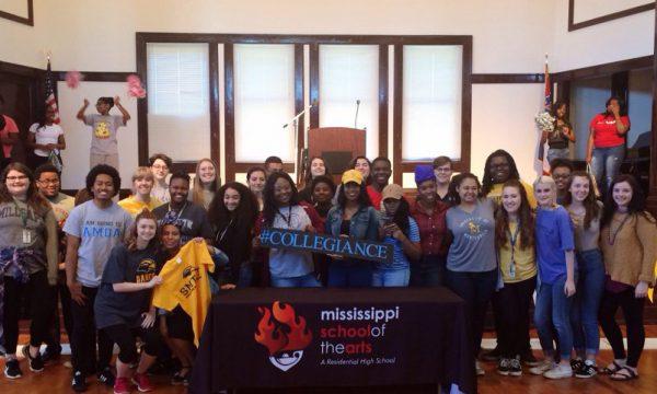 Seniors Pledge #Collegiance on #CollegeSigningDay