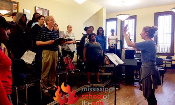 MSA Chorale Sings Piece Written by Student from LSMSA