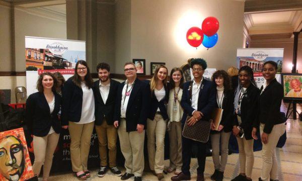 Students Greet Legislators for Brookhaven Day at the Capitol