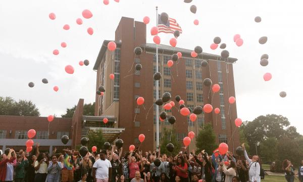 Balloon Release Celebrates 15 Years of Art Exploration