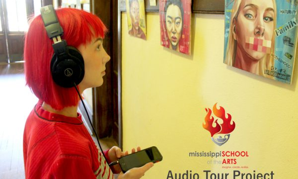 Visual Art Students Become Storytellers in Audio Tour Project