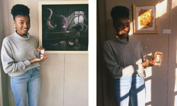 Ade'ola Ayedun '18 Places in Mississippi Collegiate Art Competition