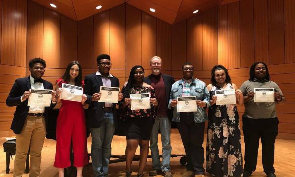 Vocal Students Receive Seven Awards at 2019 NATS Conference
